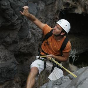 Andy klettert